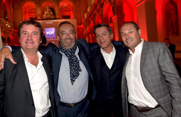 25. Hervé Bal (Editions HB), Pierre Nallet (AnaHome Immobilier), Philippe Varloud (Panzani) et Laurent Nurier (Anahome Immobilier)