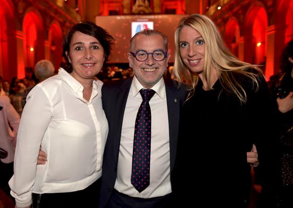 28. Christelle Cimetière (EMC), Joseph Viola (Daniel & Denise) et Aline Germain (DS Automobile)