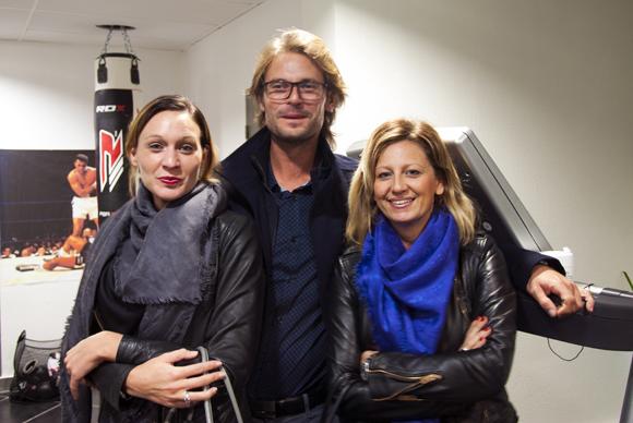 3. Tatiana, Cédric et Valérie