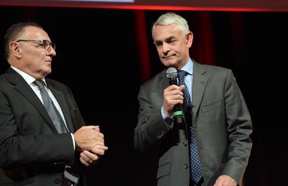 33. Marc Jean (Le Progrès) et Thierry Villotte (Guy Degrenne)