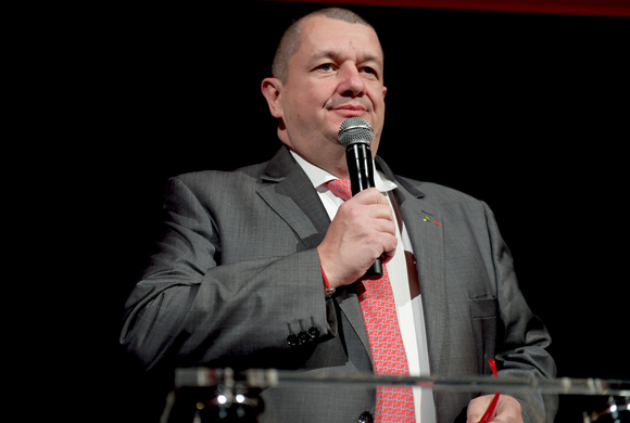 37. Christophe Marguin, président des Toques Blanches Lyonnaises