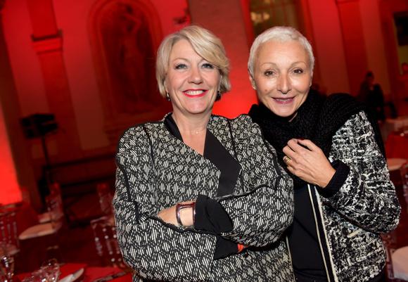 7. Nathalie Pradines (Comadequat) et Marie-José Gherardi (Le Progrès)