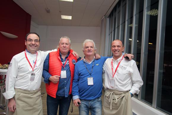 7. Etienne Boissy (Fromagerie Mons), Christophe Lebuy (Maison Hera), Jack Monchanin (Super Cross de Lyon) et Hervé Mons (Fromagerie Mons)
