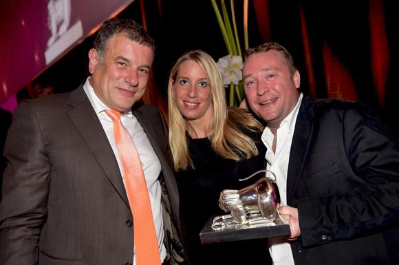 75. Gilles Demange (Orosa), Aline Germain (DS Automobile) et Benoît Toussaint (Chez Paul'O)