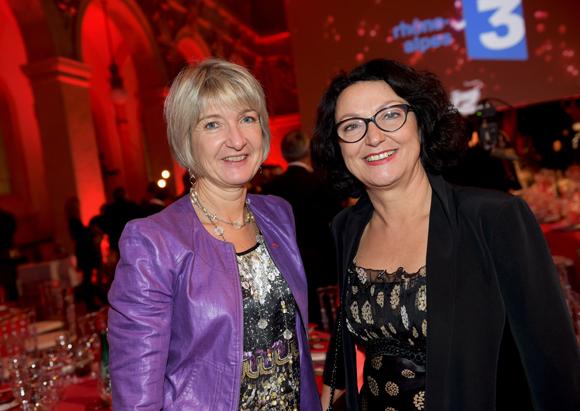 8. Anne-Sophie Panseri (Maviflex) et Brigitte Brunel-Marmone (La Vie Claire)