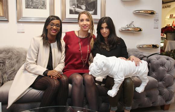 9. Asmaa Bialo (blog lyonnaisesnextdoor.fr), Mathilde Coulon (Agence Lusso) et Améni Ghandouri  (blog lyonnaisesnextdoor.fr)