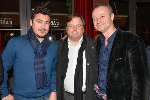 10. Adrien Besançon (In Buzz we trust), Franck Isaac-Sibille (LOU Rugby) et Marc Polisson (Lyon People)