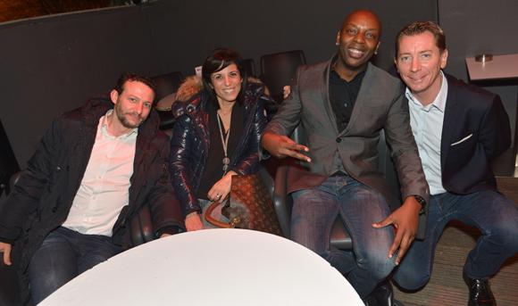 10. David, Stéphanie, Albert et Jean-Pierre