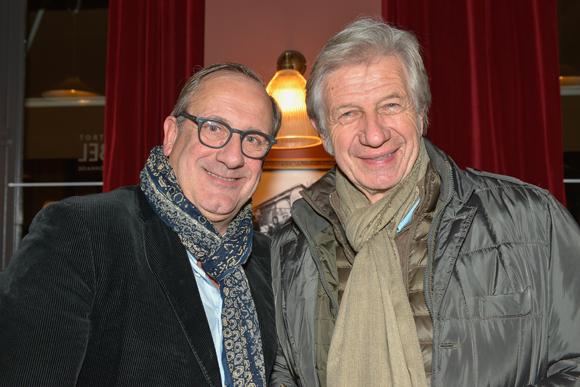 1. Philippe Florentin (propriétaire d'Abel) et Claude Polidori (Halles Paul Bocuse)