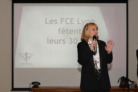 11. Marie Laure Reynaud (présidente FCE Lyon)