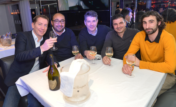 1. Jean-Pierre, Denis, Pascal, David et Benjamin