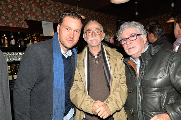 13. Stéphane Fraysse, Michel Thomas et Michel Reaud (anciens propriétaires d'Abel)
