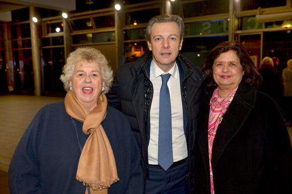 13. Jacotte Brazier, Pascal Blache, maire du 6ème et Françoise Bernachon