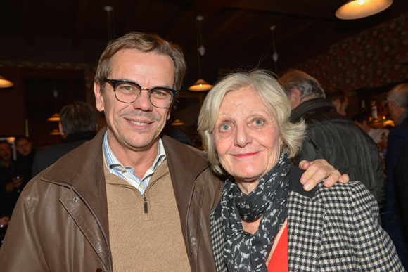 14. Jean-Michel Coquard (CCI, magazine Agir & Entreprendre) et Coralie Coquard