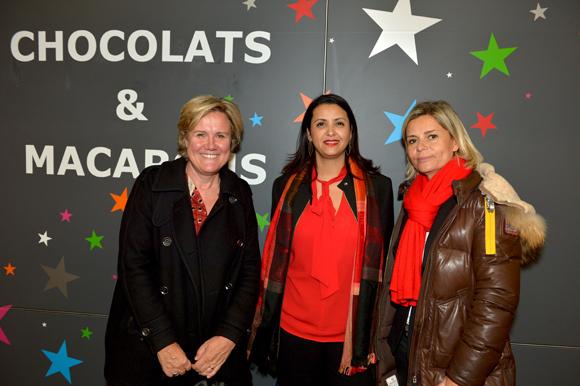 14. Pascale Savey (EDF), Fouziya Bouzerda, adjointe au Commerce et Estelle Mari (Nipro)