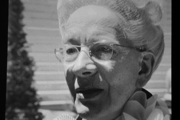 14. Projection, Yvonne Edmond Foinant, fondatrice de FCE en 1945