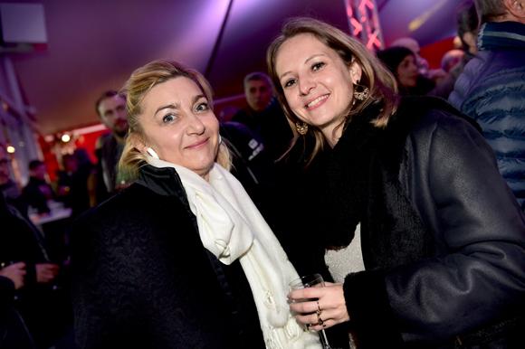 15. Annick Ribas (Capeb) et Aurélie Larqué (Groupama)