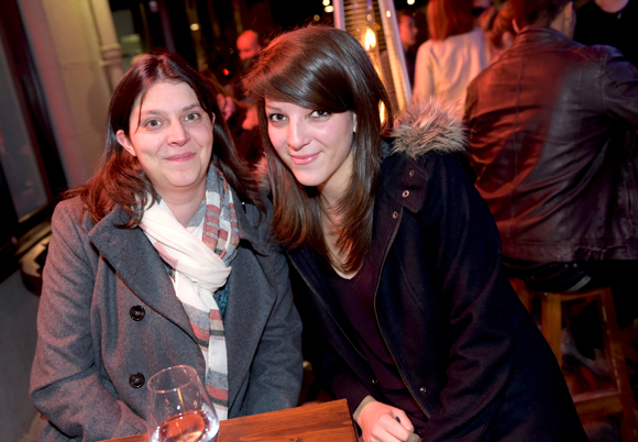16. Delphine Derochefort et Jessica Stefanelli