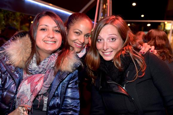 17. Luana Costa (Serca), sa sœur Saveria et Audrey B (Mapa)