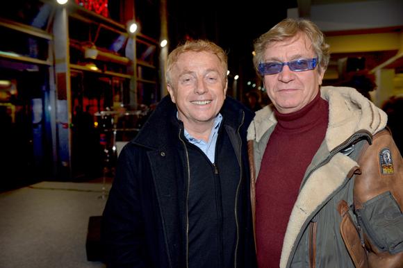 17. Jean-Marie Deleau (TF1) et Gilbert Coudène