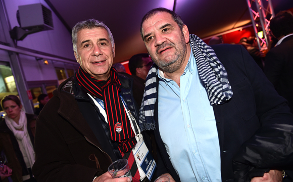 17. Pierre Maillot (LOU Rugby) et Philippe Gayraud (Eden Park)