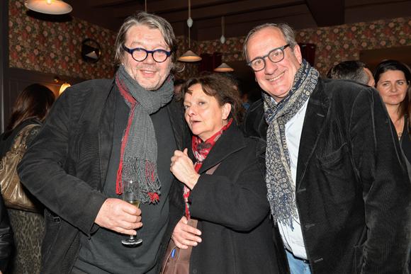 17a. Les designers Alain et Dominique Vavro, Philippe Florentin