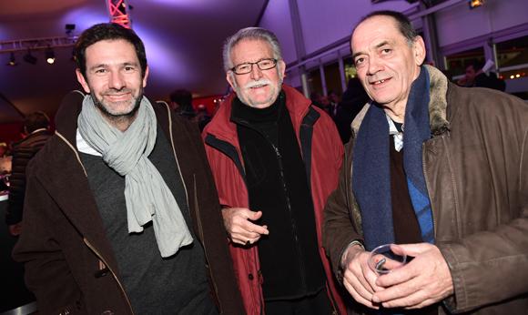 18. Stéphane Dumas (Cultura), Jo Reina (CGPME) et Robert Genin (Blanchard & Blazquez)