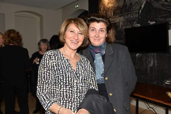 18. Jocelyne Perin (JB Diffusion) et Florence Greffier (Découvertes et Droit)
