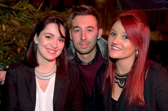 19. Mélanie Fezay, Alexandre Soglu (BMW 6ème Avenue) et Julie Jurkiewicz (Centre Hospitalier de Saint Chamond)
