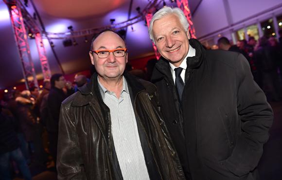 22. Gérard Angel (Les Potins d'Angèle) et Marc Fraysse (Cofely GDF Suez)