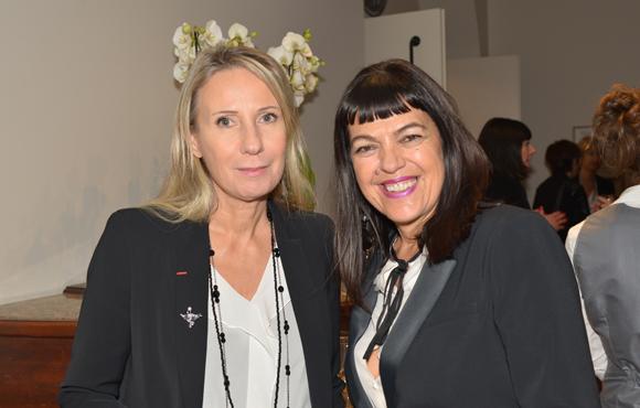 2. La styliste Nathalie Chaize et Laurence Renaudin (agence de communication)
