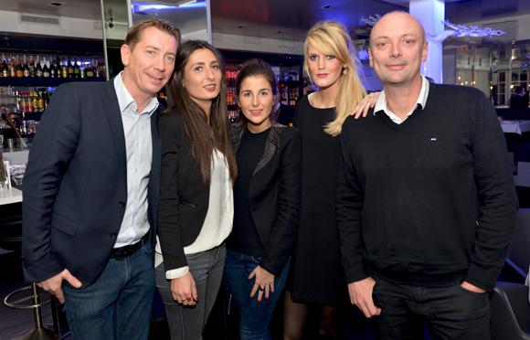2. Jean-Pierre, Léa, Fanny, Alexia et Jean-François