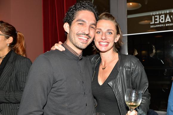 26. Victor Diego (Comptoir Mazenod) et Chloé Robin