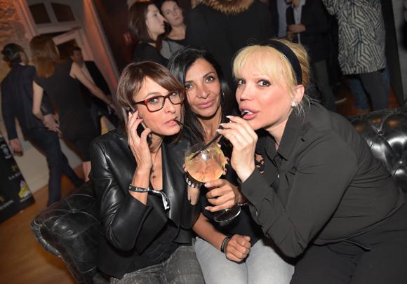 26. Katia, Louisa Belabli (Le coin des filles) et Angie Vicari (Angie Vicari Make UP Designeur)