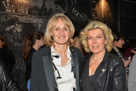 29. Marie Laure Reynaud (présidente FCE Lyon) et Michèle Wolff (MOF Photographe)