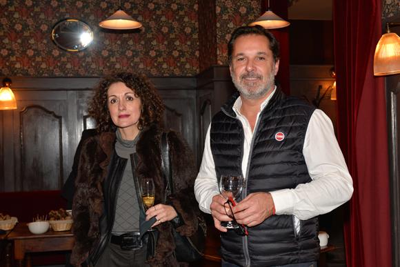 30. Nathalie Chanal (Carotek Bernard Ceramics) et Stéphane Reynouard (Oddo)
