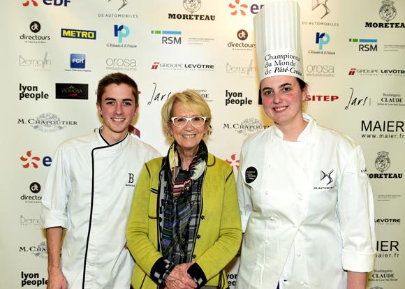 30. Valentin  Arnault (Pâtisserie Bernachon), Mercote et Aurélie Deygas (Pâtisserie Bernachon)