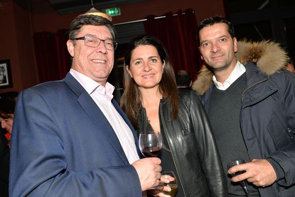 3. Bruno Metzlé (Abel, associé de Philippe Florentin), Marie-Anne Girel (Integra) et Benjamin Girel (Reverand & Piron)