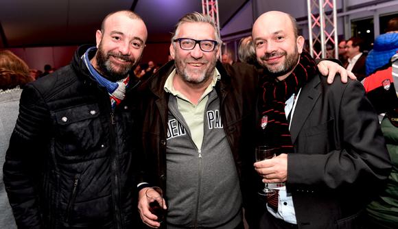 3. Pierrot Arnoux (TSP), Eric Bonnet (Le Temps Libre) et Julien Bonnard