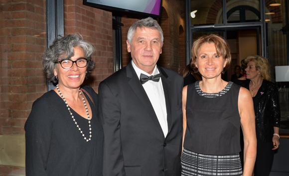 3. Leonor Goncalves, Hervé Buirette et Giselle Araque (Esima)