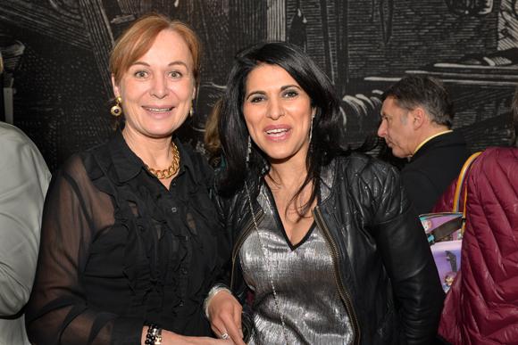 4. Isabelle Bernard (OL Féminin) et le docteur Naima Baladi