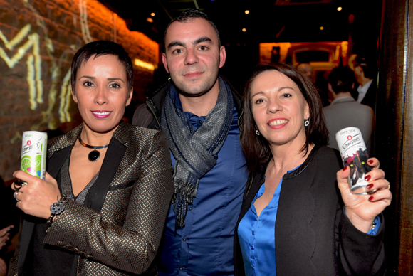 47. Hiba Delorme (Maison Delorme), Umit Ceylan (Orangina Schweppes) et Catherine Aupoil (Maison Delorme)