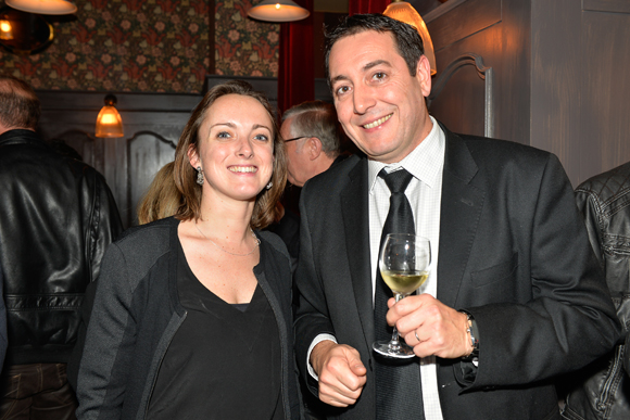 5. Solenn Daniel (Abel et Groupe Flic) et Jean-Yves Lombard (Champagne Henriot)