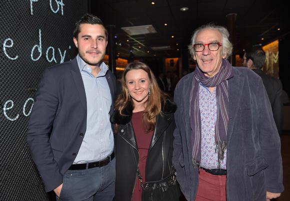 6. Jocelyn Benat (Champagne Mumm), Pauline Martin et Albert Dray (Café du Pond)