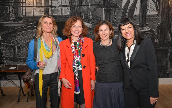 6. Valérie Le Mao (La Tribbu), Odile Roche (Capital-Energie), Laurence Taraud (Aria Bien Être) et Laurence Renaudin