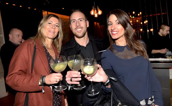 8. Domitille Durrenberger (Byblos Group), Adrien Augier(OL) et Estelle Ronchetti (Byblos Shine)