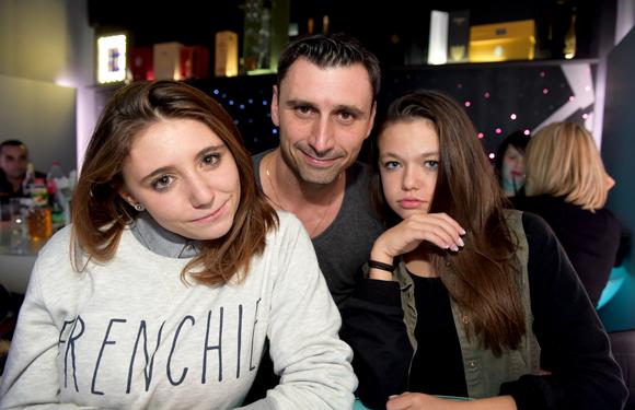 9. Jean-Marc Terle (Zodiac Aérotechnique), sa fille Amandine et Angélique Le Bleguet