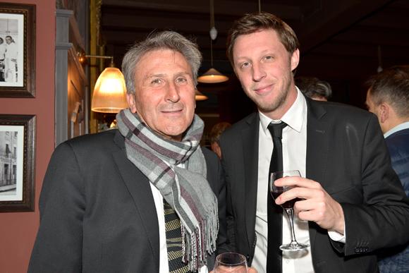 9. Alain Trescartes (LCL) et Olivier Mougin (Nespresso)