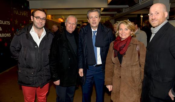 9. Pascal Blache, maire du 6ème et ses élus