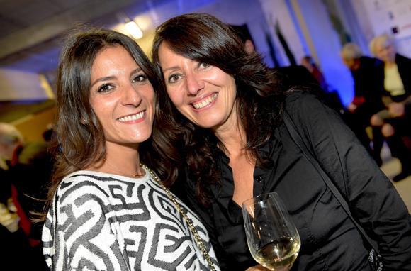 97. Aurélie Sitruk (Coz Magazine) et Florence Guyot (Champagne Marguerite)